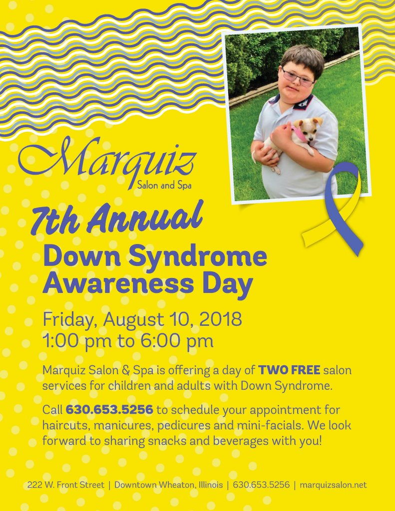 7th Annual Down Syndrome Awareness Day Marquiz